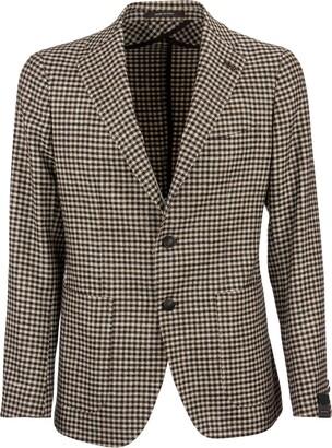 Tagliatore Wool And Silk Jacket Blazer
