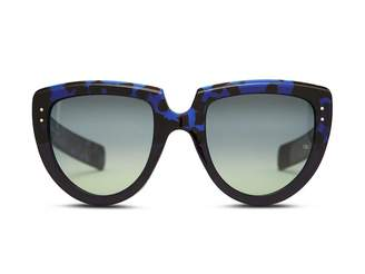 Oliver Goldsmith Sunglasses Y-Not 1966 Blue Tortoise On Ink