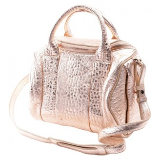 Alexander Wang Rockie Metallic Leather Handbags