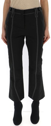 Givenchy Stitch Detail Flared Trousers