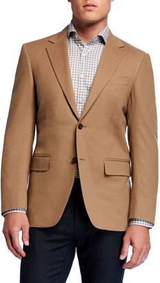 Canali Men's Two-Button Wool-Cashmere Blazer