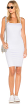 LnA Double Layer Tank Dress in White. - size XS (also in )