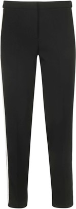 Ermanno Scervino Contrasting Side Bands Trousers