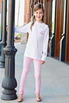 RuffleButts Pink Ruffle Legging