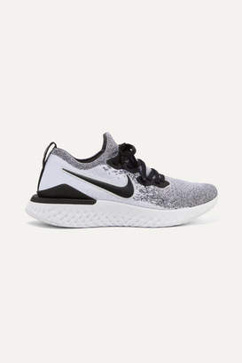 Nike Epic React 2 Flyknit Sneakers - Light gray