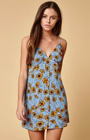 Lucca Couture Joey Spaghetti Strap Slip Dress