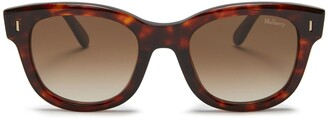Mulberry Jane Sunglasses Red Havana Acetate