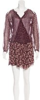 Etoile Isabel Marant Sheer Long Sleeve Dress w/ Tags