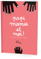 Minus Editions Granparent/Child Daddy, Mommy and I notebook