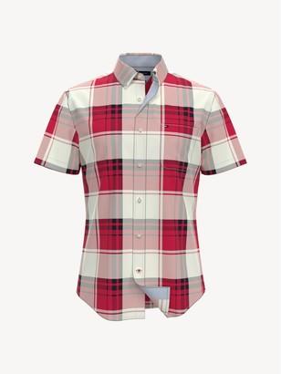 Tommy Hilfiger Essential Custom Fit Plaid Shirt