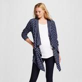 Maternity Open Layering Tonal Stripe Cardigan - Liz Lange® for Target