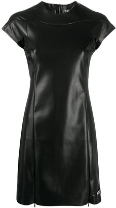 Misbhv Faux Leather Dress