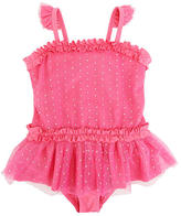 Babies 'R' Us Heidi Klum Truly Scrumptious Girls' One-Piece Skirted Swimsuit - Pink (Toddler)
