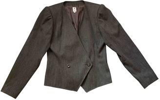 Ungaro Grey Wool Jackets