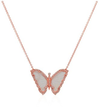 Anne Sisteron Butterfly Necklace