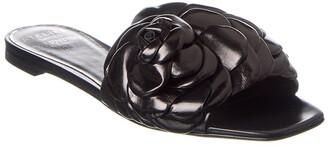 Valentino Atelier Leather Sandal