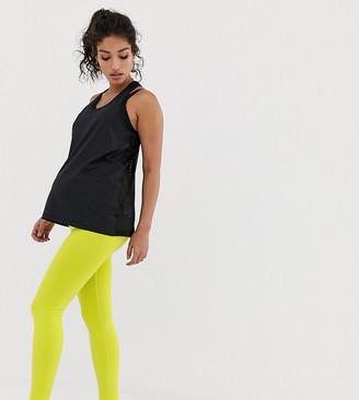 Asos 4505 4505 Maternity seamless soft stretch base layer legging-Green