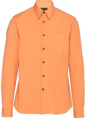 Prada Fitted Button-Up Shirt
