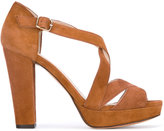 Tila March Nevada platform sandals - women - Leather/Goat Suede - 37