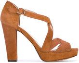 Tila March Nevada platform sandals - women - Leather/Goat Suede - 37