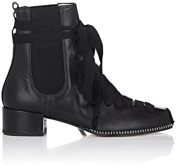 Altuzarra Women's Espadrille Leather Chelsea Boots
