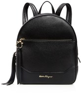 Salvatore Ferragamo Samy Leather Backpack
