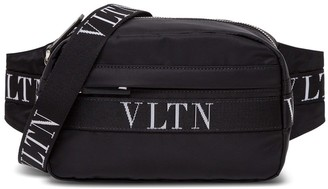 Valentino Nylon Belt Bag With Logo