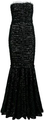 Dolce & Gabbana sequins embellished dress
