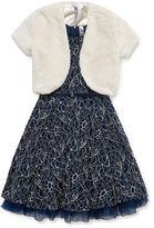 Knitworks Knit Works Sleeveless Dress Set - Girls 7-16 and Plus