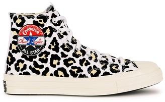 Converse Chuck 70 leopard-print canvas hi-top sneakers