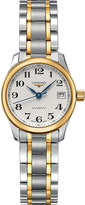 Longines L2.128.5.78.7 Master 18-carat gold and stainless steel watch