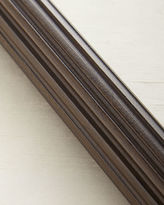 Horchow 4'L Fluted Wood Drapery Rod