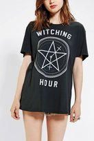 Urban Outfitters Feather Hearts Witching Hour Tee
