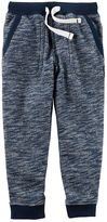 Carter's Boys 4-8 French Terry Pull-On Marled Jogger Pants