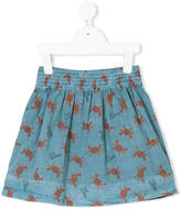 Bobo Choses a-line printed skirt