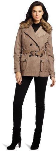 Vince Camuto Women's Hooded Rain Jacket