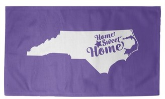 Raleigh East Urban Home Home Sweet Purple Area Rug East Urban Home Rug Size: Rectangle 2' x 3'