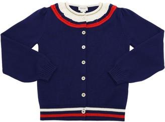 Gucci Wool Knit Tricot Cardigan