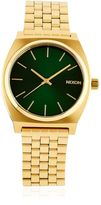 Nixon Time Teller Gold Finish Watch