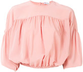 RED Valentino roll sleeve top