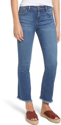 Prosperity Denim High Waist Crop Flare Jeans
