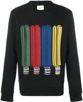 Iceberg Cotton Printed Sweatshirt