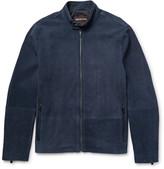 Michael Kors Perforated Nubuck Jacket