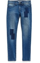 Joe's Jeans Girl's Patch Denim Leggings