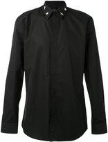 Givenchy star collar shirt