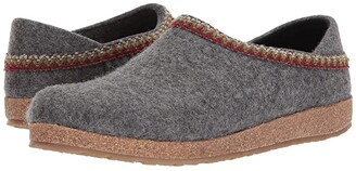 Haflinger GZH Zigzag (Grey) Slippers