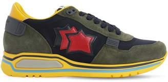 Atlantic Stars Pegasus Suede & Nylon Sneakers