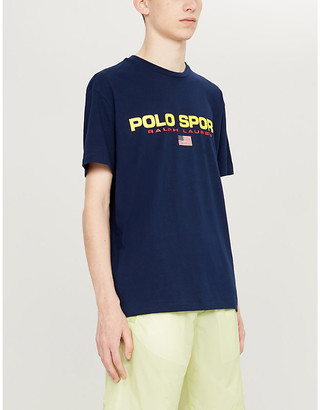 Polo Ralph Lauren print cotton-jersey T-shirt
