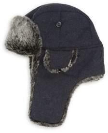 Weatherproof Faux Fur Bomber Hat