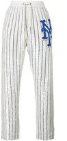 Ashish Striped Sequin Embellished Track Pants